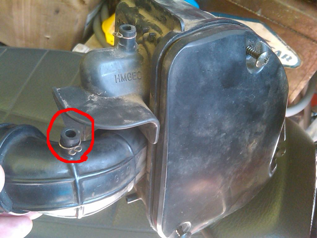 where is these oil coming from? - Motor Scooter Guide Forums