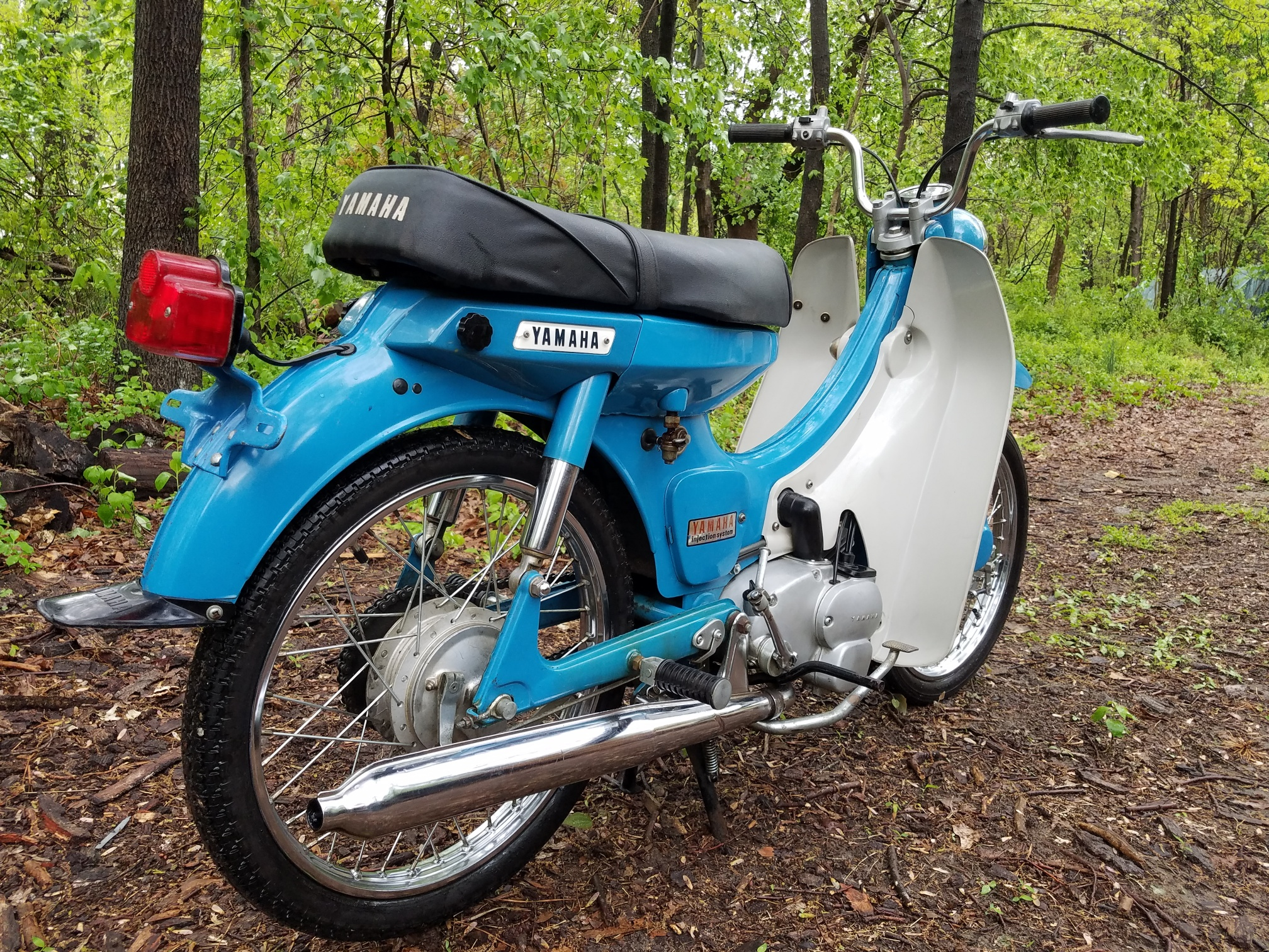 Cleanest Yamaha U5 ? - Motor Scooter Guide Forums