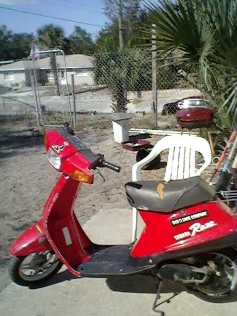 89 yamaha Razz stalls at stop - Motor Scooter Guide Forums