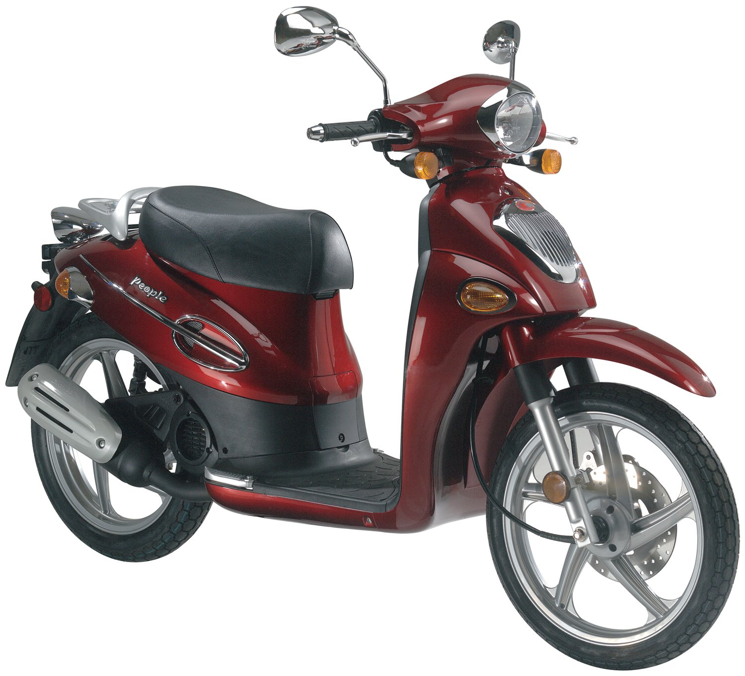 Kymco People 40 / 140 / 40   Motor Scooter Guide