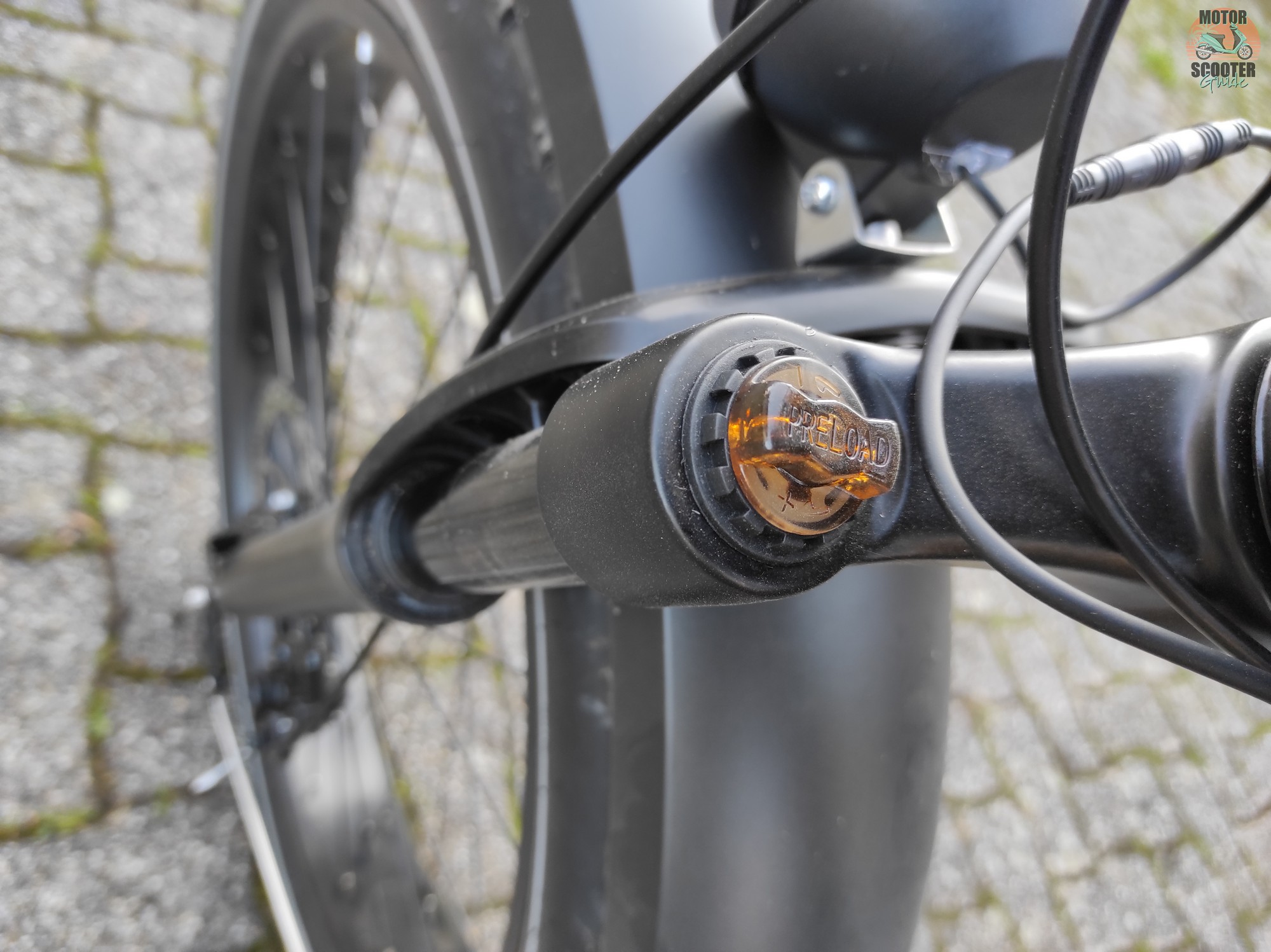 Himiway Cruiser Front Forks